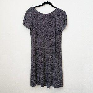 H&M Black Aztec Dress - Size 2